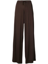 Jean Paul Gaultier Vintage 1990'S Wide Leg Trousers Brown