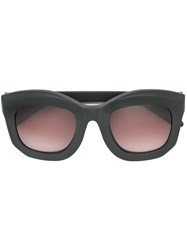 Kuboraum Oversized Frame Sunglasses Black