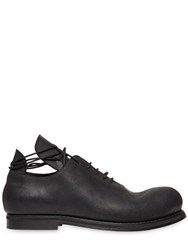Goran Horal Waxed Leather Oxford Lace Up Shoes