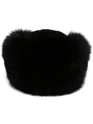 Liska Tail Hat Black