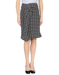 Weekend Max Mara Skirts Knee Length Skirts Women Black