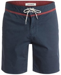 Quiksilver 18' Street Trunk Yoke Shorts Navy