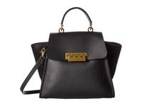 Zac Posen Eartha Iconic Top Handle Black