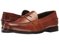 Nunn Bush Noah Beef Roll Penny Slip On Cognac Men's Slip On Dress Shoes Tan