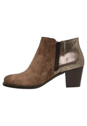 Kanna Ankle Boots Camel Or