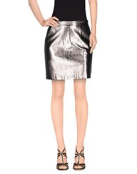Sister Jane Skirts Mini Skirts Women Silver