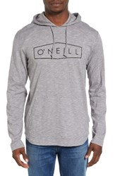 O'neill Men's Unity Graphic Hoodie Grey