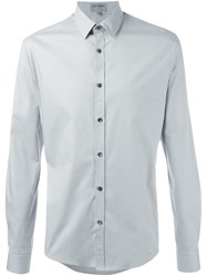 Les Hommes Urban Classic Button Down Shirt Grey