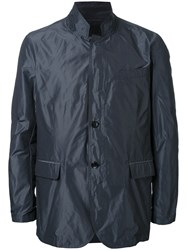 Kent And Curwen Lightweight Buttoned Jacket Black