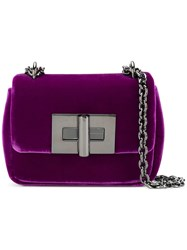 Tom Ford Mini Natalia Crossbody Bag Pink And Purple