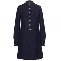 Miu Miu Wool Coat Navy