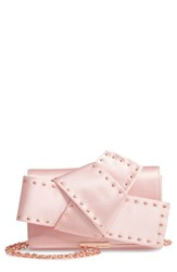 Ted Baker London Giant Knot Satin Clutch Pink Light Pink