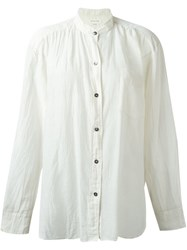 Etoile Isabel Marant A Toile 'Lixy' Shirt Nude And Neutrals