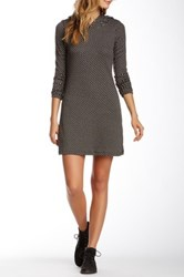 Vfish Dame Hooded Sweater Dress Beige