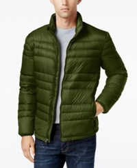 32 Degrees Men's Packable Down Jacket Hunter