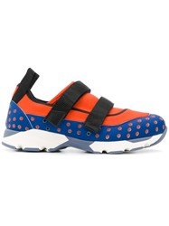 Marni Colour Block Sneakers Blue