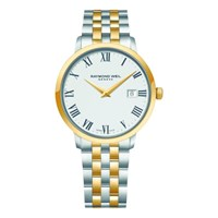 Raymond Weil 5488 Stp 00300 Men's Toccata Two Tone Stainless Steel Bracelet Strap Watch Gold Silver