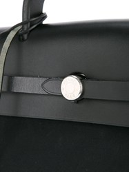 Hermes Vintage Sac A Dos 2 In 1 Backpack Black