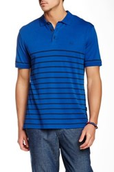 Ag Jeans Green Label The Sebastian Short Sleeve Polo Blue