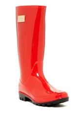 Nicole Miller Rainyday Rainboot Red