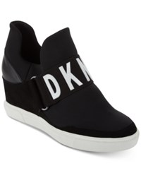Dkny Cosmos Platform Sneakers Created For Macy's Black
