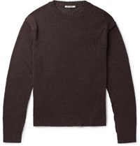 Our Legacy Acre Linen Sweater Brown