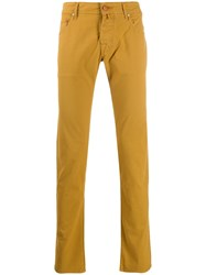 Jacob Cohen Slim Fit Chinos Neutrals