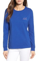 Vineyard Vines Women's Whale Graphic Tee Royal Ocean