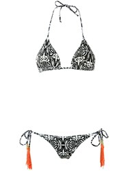 Sub Triangle Bikini Set White