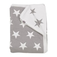 Gant Stars Knit Throw 130X180cm Grey