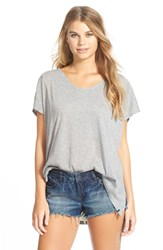 Volcom 'Weekend Dream' Tunic Heather Grey