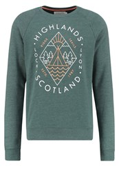 Pier One Sweatshirt Mottled Green