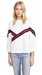 Evidnt Trim Tape Sweatshirt Off White