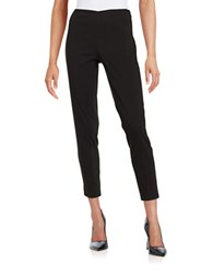 T Tahari Dayna Textured Ankle Pants Black