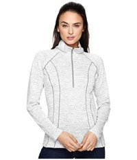 Kuhl Vara 1 4 Zip Ash Women's Long Sleeve Pullover Gray