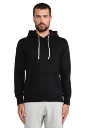 Reigning Champ Core Pullover Hoodie Black