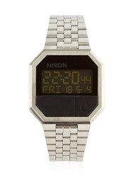 Nixon Re Run Silver Finish Digital Watch