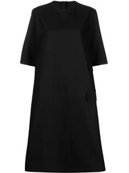 Sofie D'hoore Oversized Patchwork Dress Black