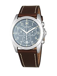 Victorinox Infantry Chronograph Watch Brown