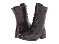 Born Livingston Mushroom Dark Brown Full Grain Leather Women's Lace Up Boots