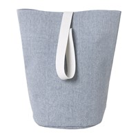Ferm Living Chambray Basket Large Blue