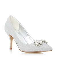 Untold Bellerose Trim Detail Court Shoe Metallic