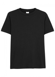 Chapter Black Slubbed Jersey T Shirt