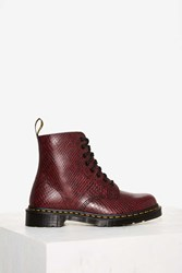 Dr. Martens 8 Eye Leather Boot Pascal Viper Red