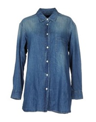 Truenyc. Denim Shirts Blue