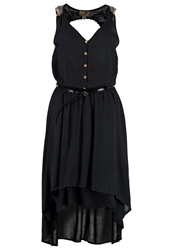 Khujo Breg Summer Dress Black