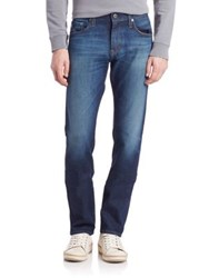 Ag Jeans The Machbox Faded Slim Straight Fit Jeans Landers