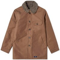 Bleu De Paname Double Counter Jacket Brown