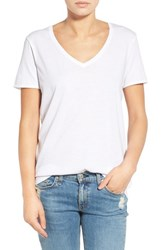 Rag And Bone Women's Rag And Bone Jean 'Base' Cotton V Neck Tee