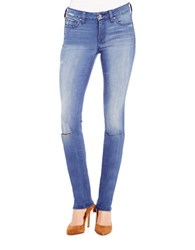 Jessica Simpson Forever Distressed Faded Skinny Jeans Levens